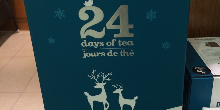 24 Days of Tea from David's Tea