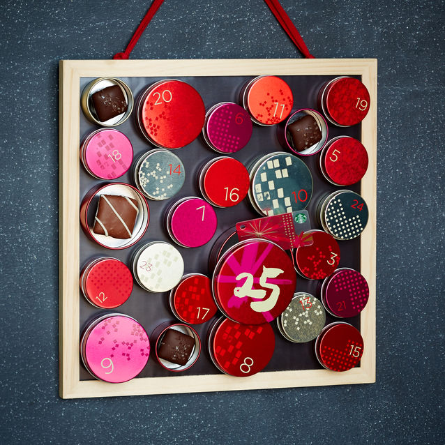 Starbucks Advent Calendar