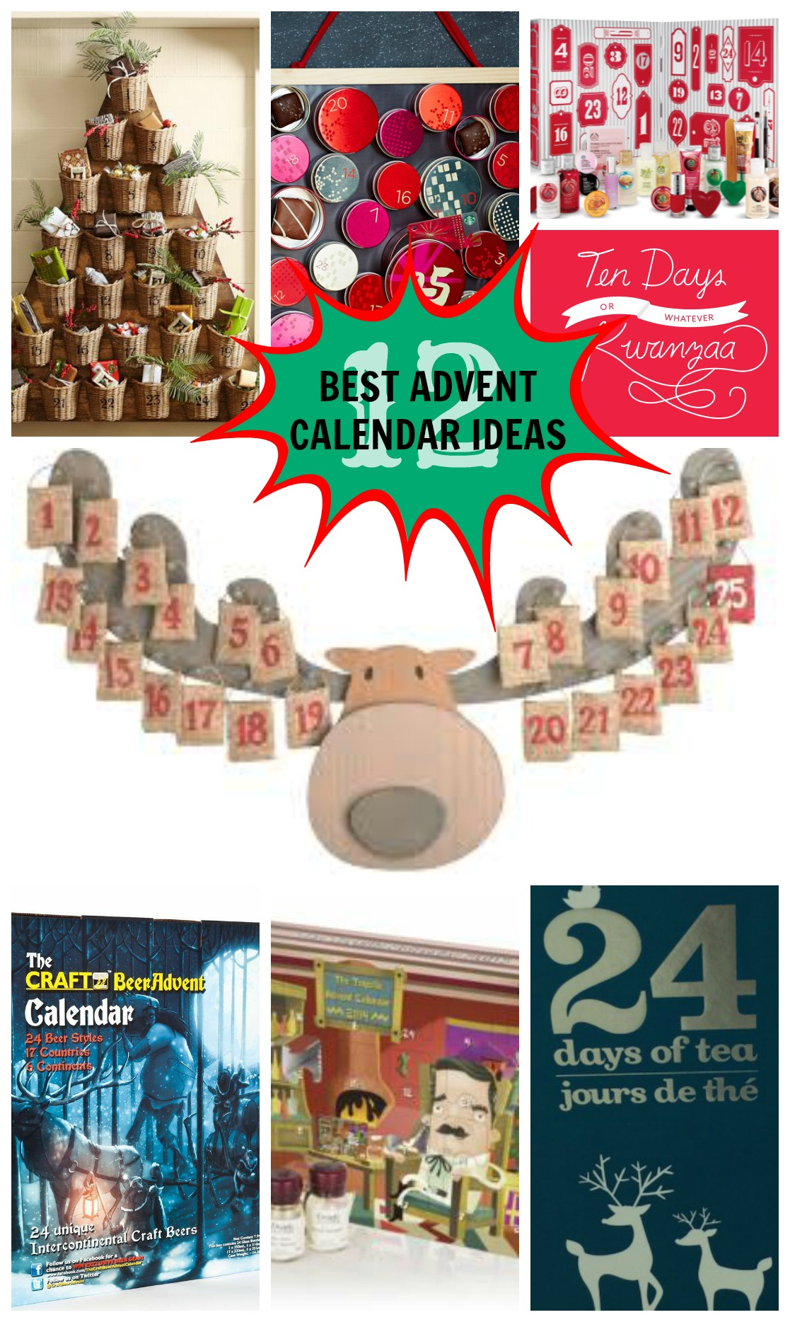 12 Best Advent Calendar Ideas