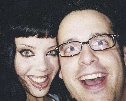 Buzz Bishop and Bif Naked