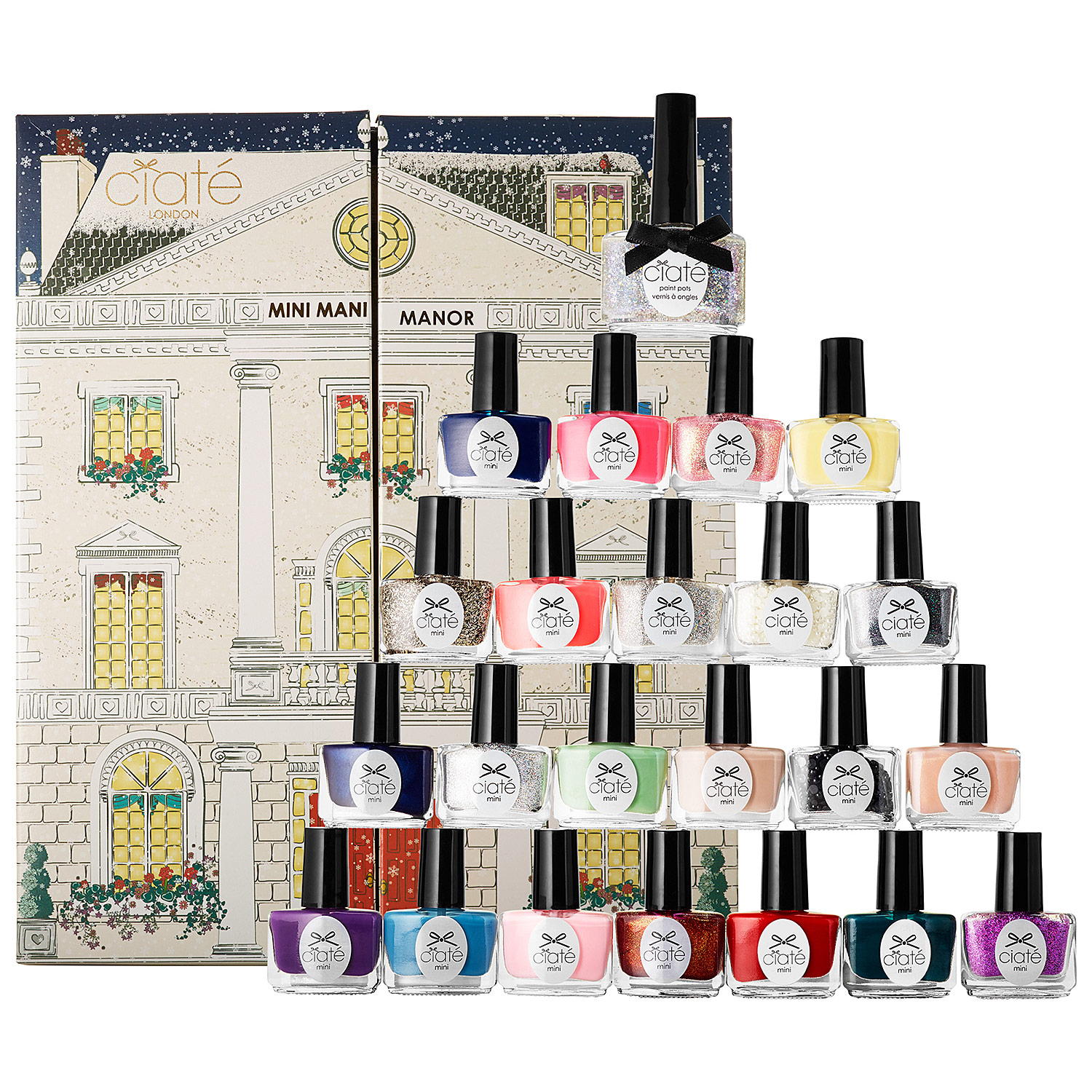 Ciaté Mini Mani Manor Advent Calendar 2014