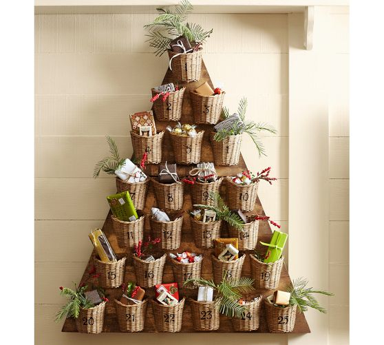 Diy Advent Calendar Tree : Best advent calendars ideas