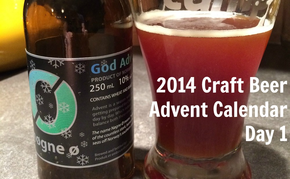 Craft beer Advent Calendar 2014 - Nogne 0