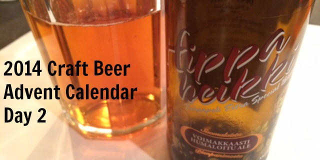 Hippaheiki Craft Beer Advent Calendar Day 2