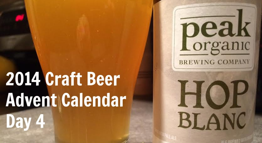 Peak Organic Hop Blanc - Craft Beer Advent Calendar