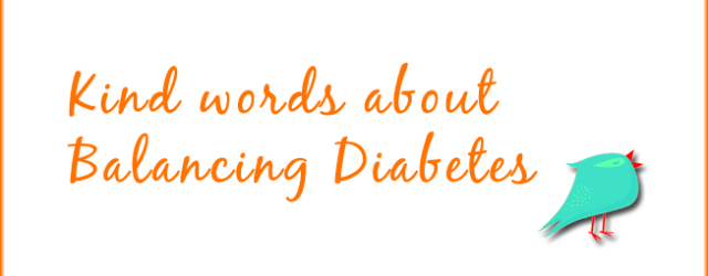 Balancing Diabetes - What Diabetes Feels Like