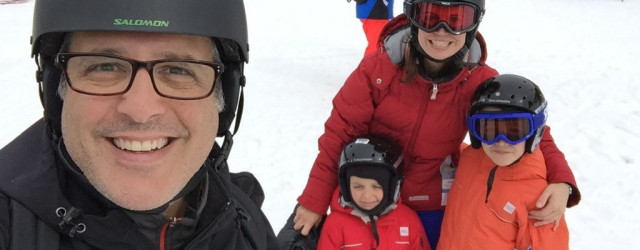 A Family Ski Weekend At Sunshine
