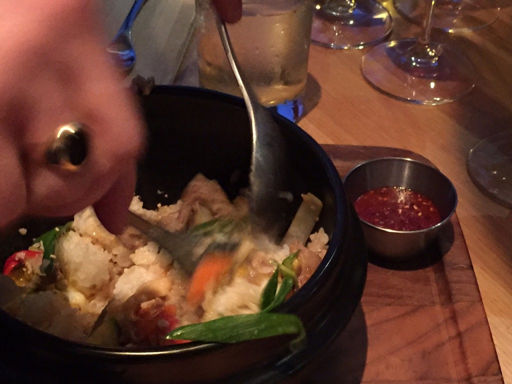 Bibimbap at Earls