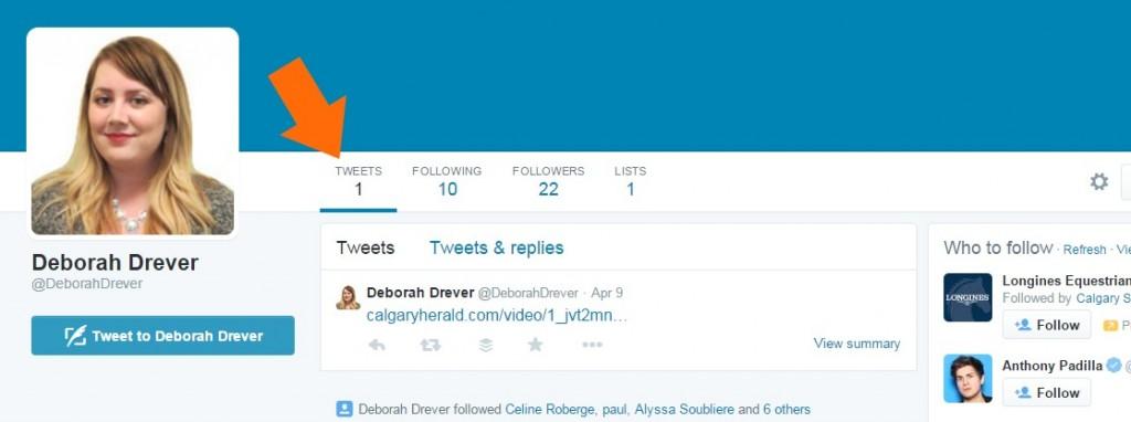 Deborah Drever Twitter