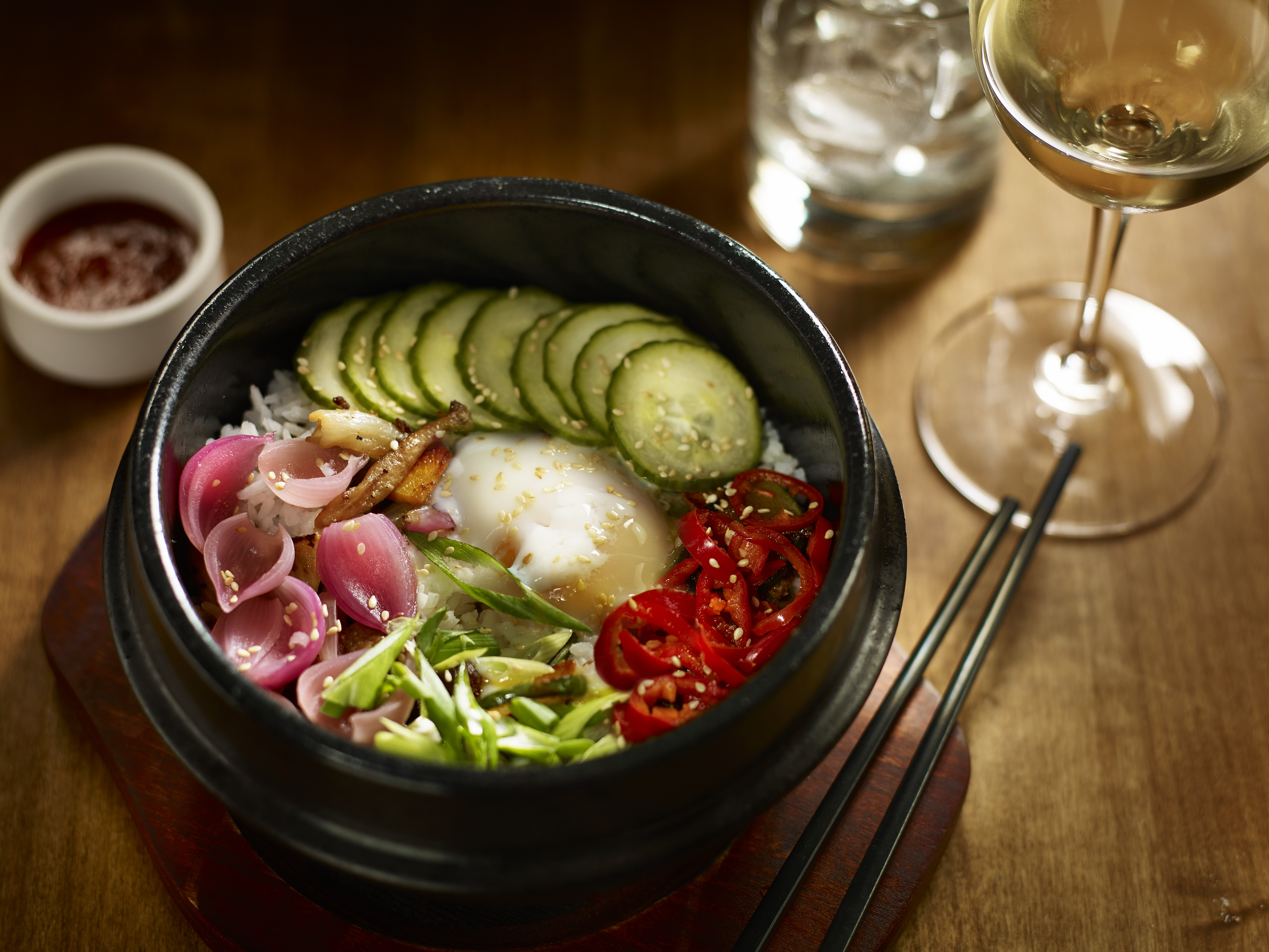 Bibimbap at Earl's