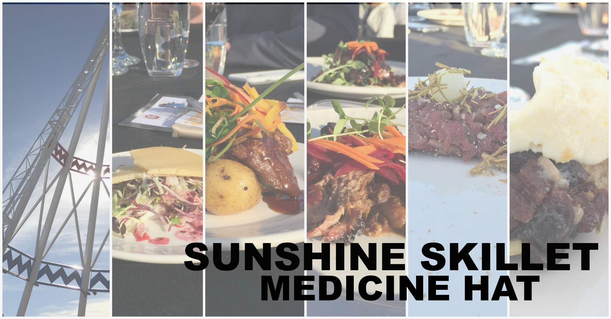 Sunset Dinner at the Sunshine Skillet In Medicine Hat