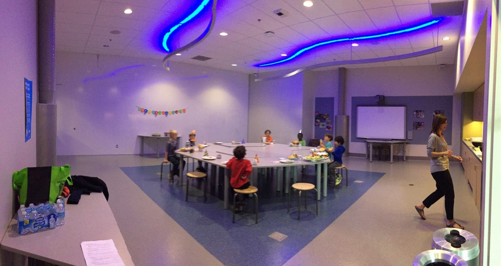 Birthday Party Room at TELUS Spark
