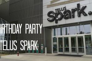 birthday party at telus spark