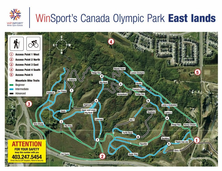 Mountain Bike Trails On Paskapoo Slopes Are Some Of The