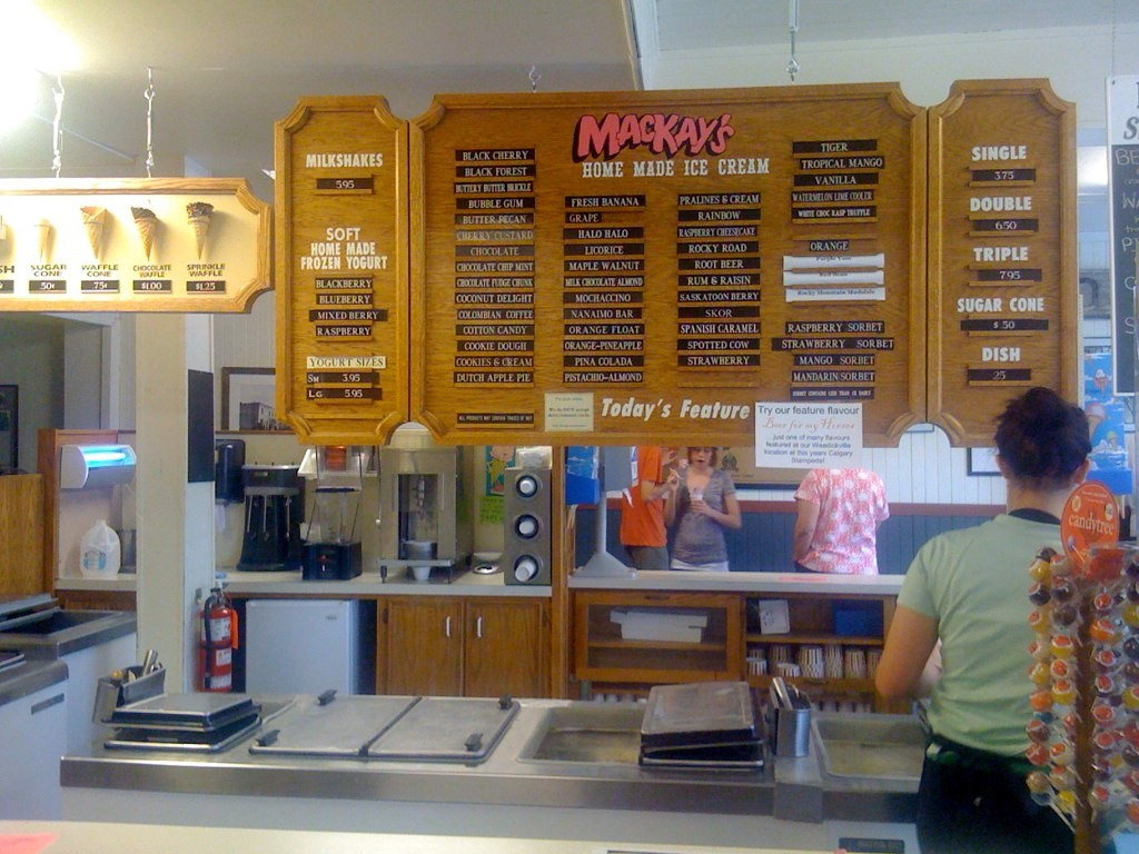 MacKay's Ice Cream In Cochrane
