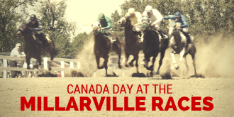 Canada Day At The Millarville Races