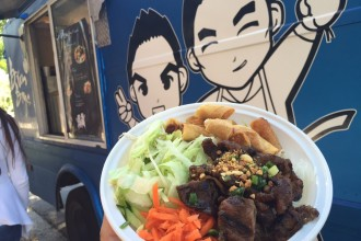 Bun Boys BBQ Pork Bowl