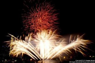 Canada Day Fireworks in Calgary