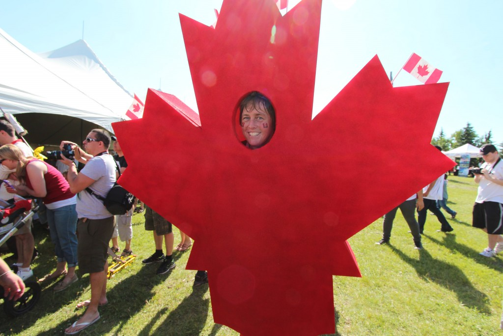 Canada Day In Calgary