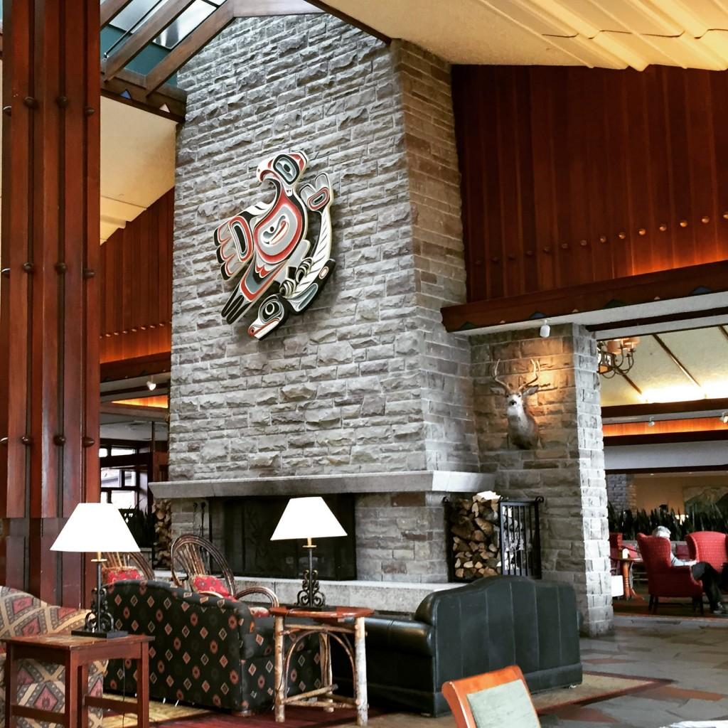 Jasper Park Lodge Lobby