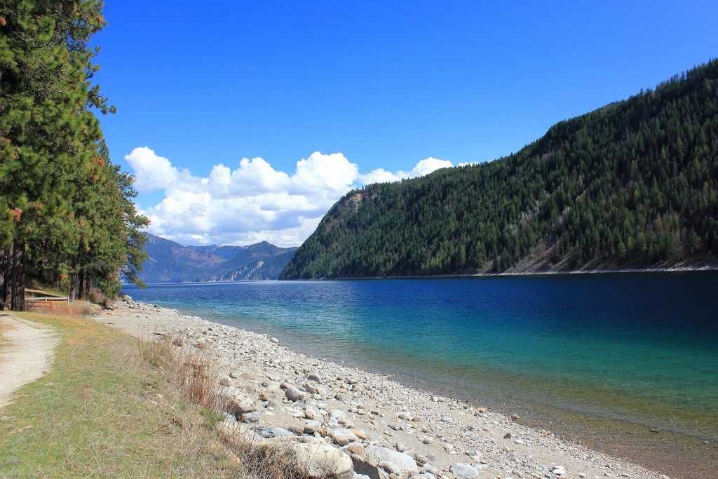 Beaver Bay Beach On Lake Pend Oreille