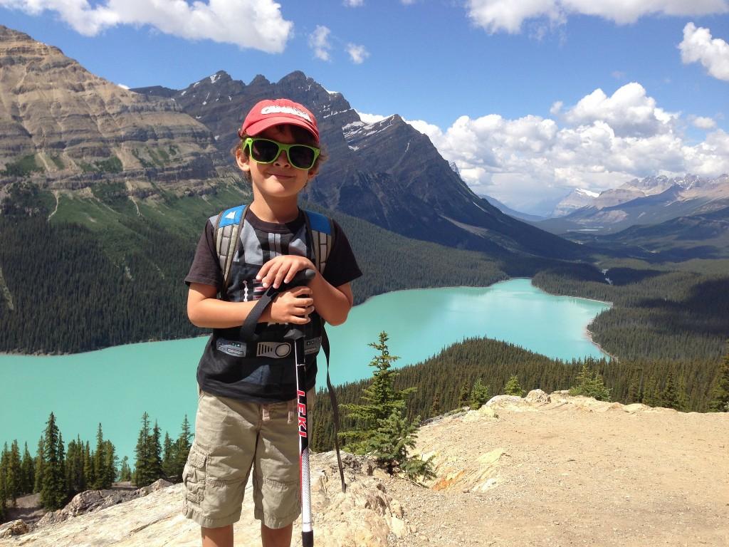 Hike to Peyto Lake and Bow Summit