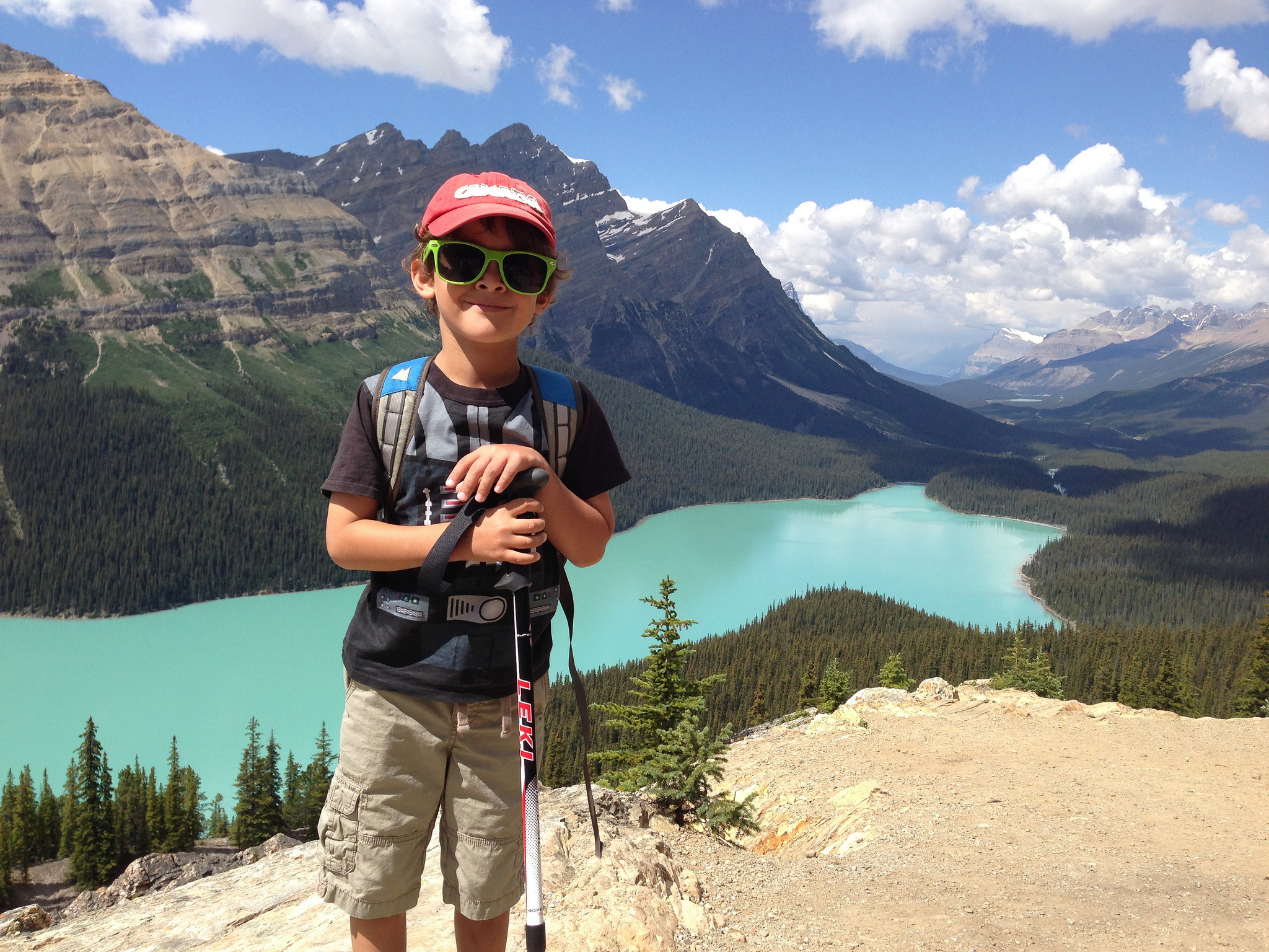 Hike to Peyto Lake and Bow Summit