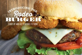 Rodeo Burger from South St Burger Company