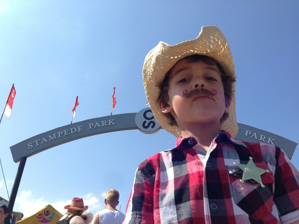 Zacharie at Calgary Stampede