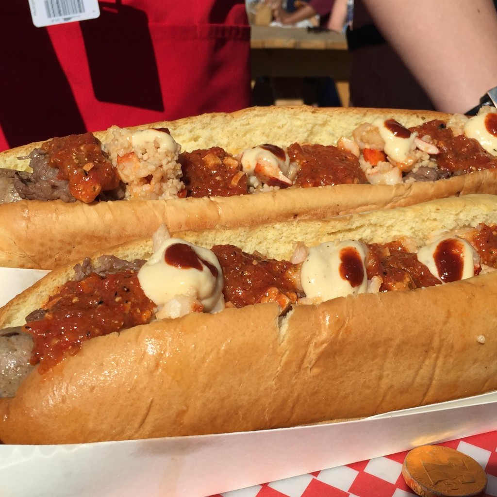 Hundred Dollar Hot Dog  At Calgary Stampede