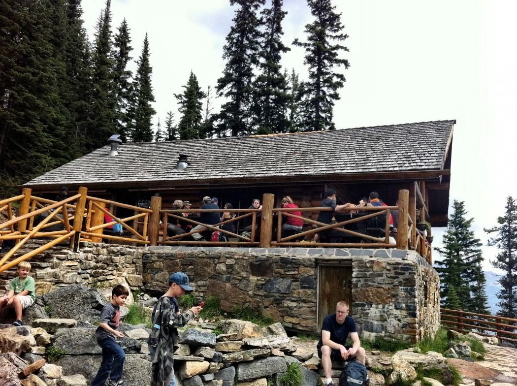 lake agnes tea house open - HD1050×784