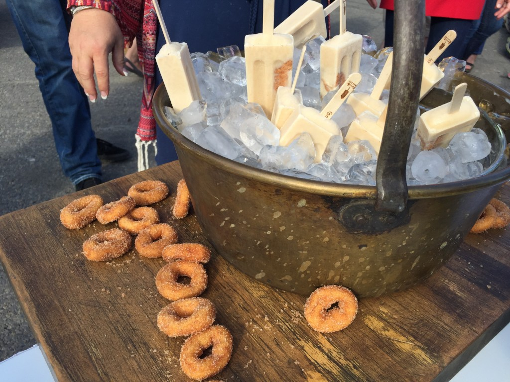 Mini Donut Popsicle At Calgary Stampede