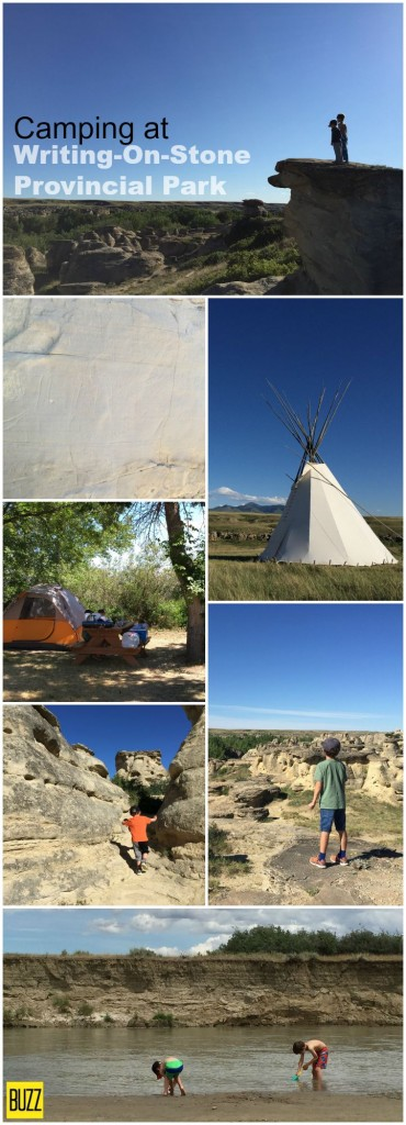 Why camping at Writing-on-Stone Provincial Park is the best in Alberta - TBAB