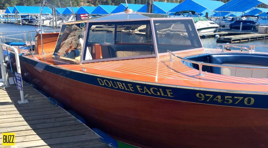 Coeur D'Alene Resort boat Double Eagle 2
