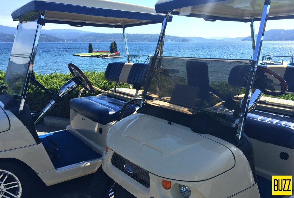 Coeur D'Alene Resort Golf Carts