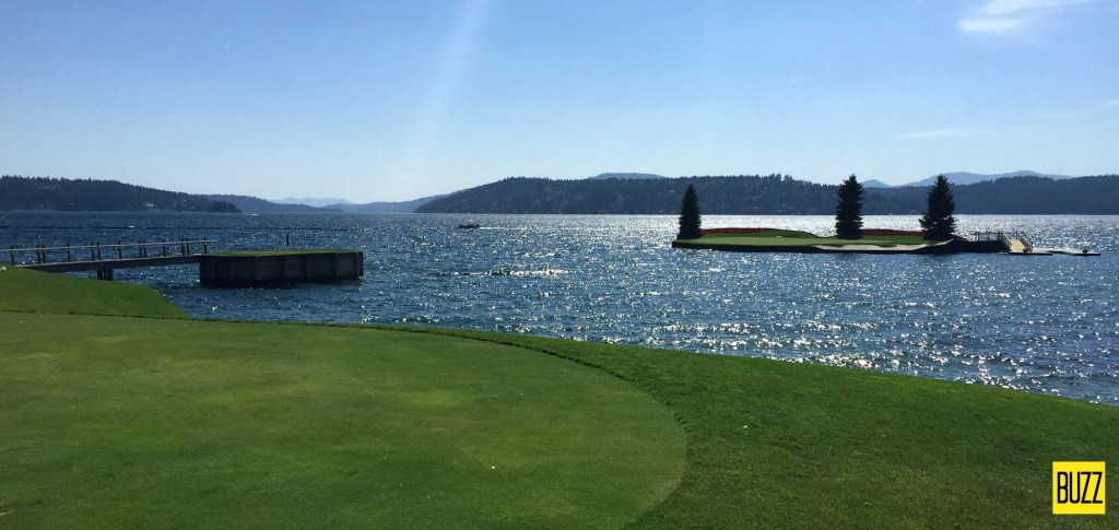 CDA Golf Resort Island Green