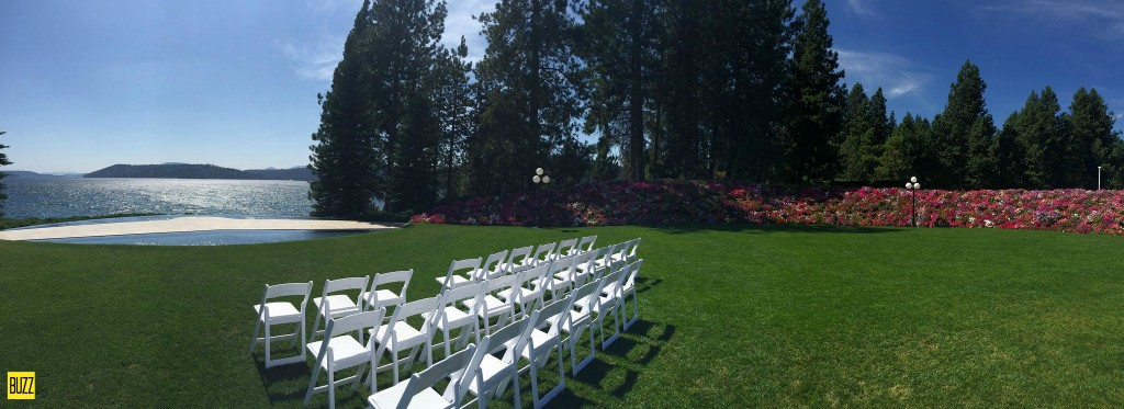 Wedding at the CDA Resort