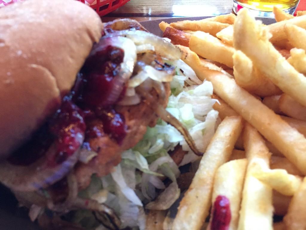 huckleberry burger