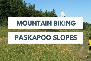 Mountain Biking Paskapoo Slopes