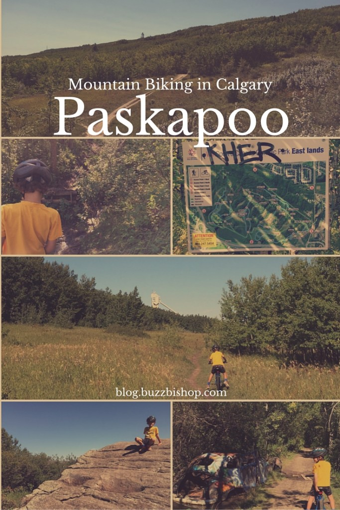Mountain Biking in Calgary at Paskapoo Slopes - TBAB