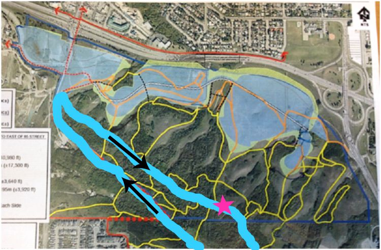 trinity development map of paskapoo