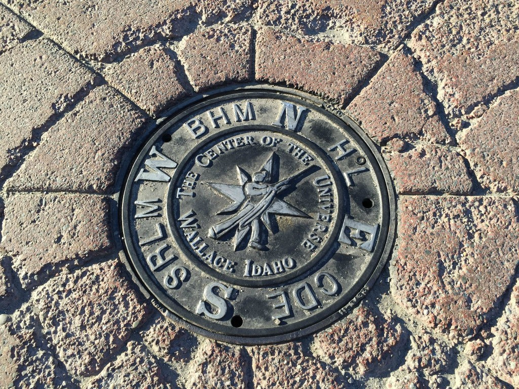 Wallace Center Of The Universe Manhole