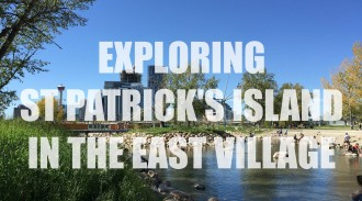 Exploring St Patrick's Island In Calgary's East Village - TBAB