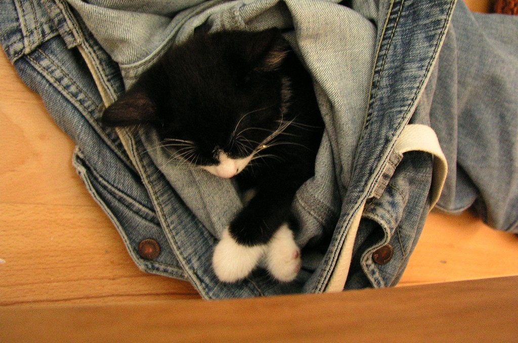 Sleeping in Jeans