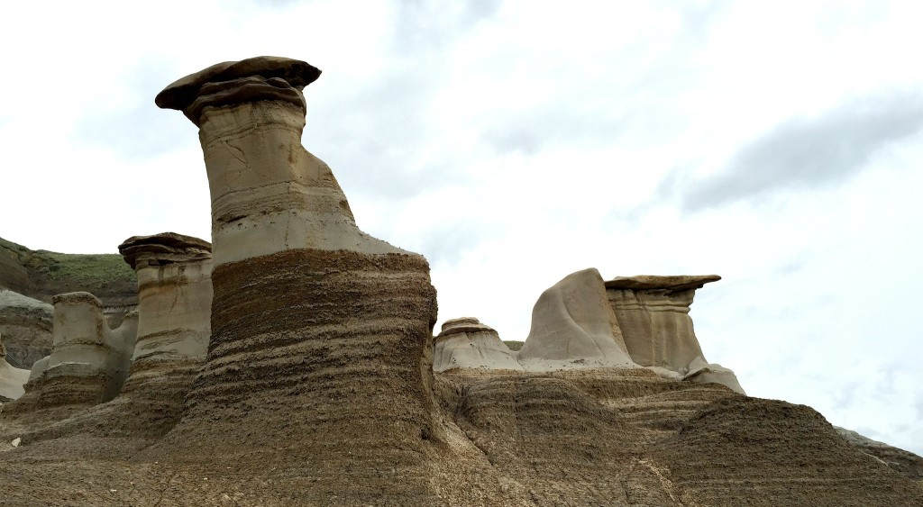 Hoodoos In Drumheller Valley