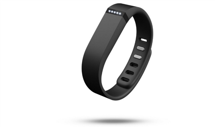 Black Fitbit Flex