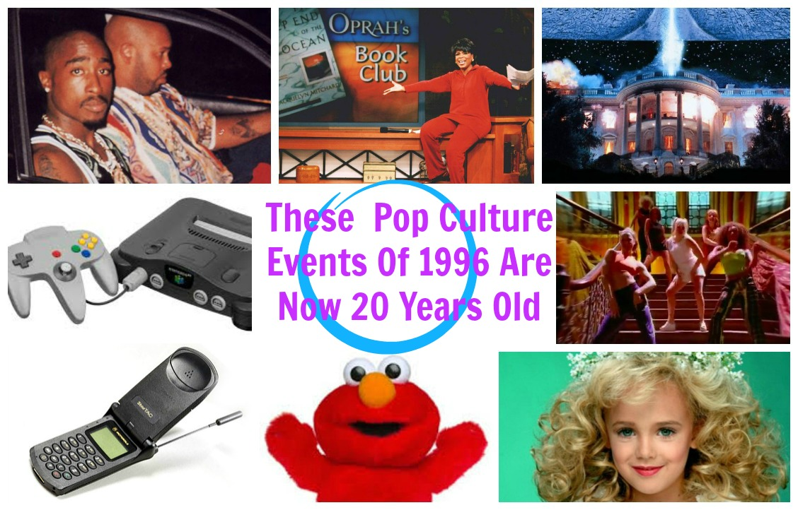 Top Events Of 1996 Turning 20 In 2016