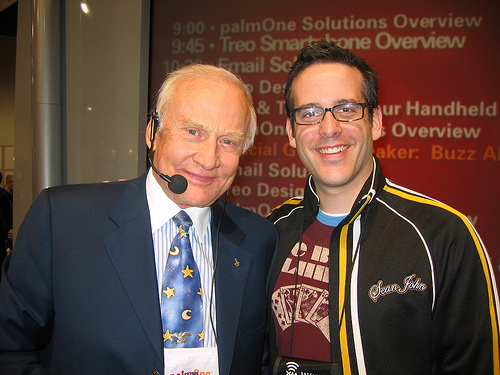 Buzz Bishop and Buzz Aldrin