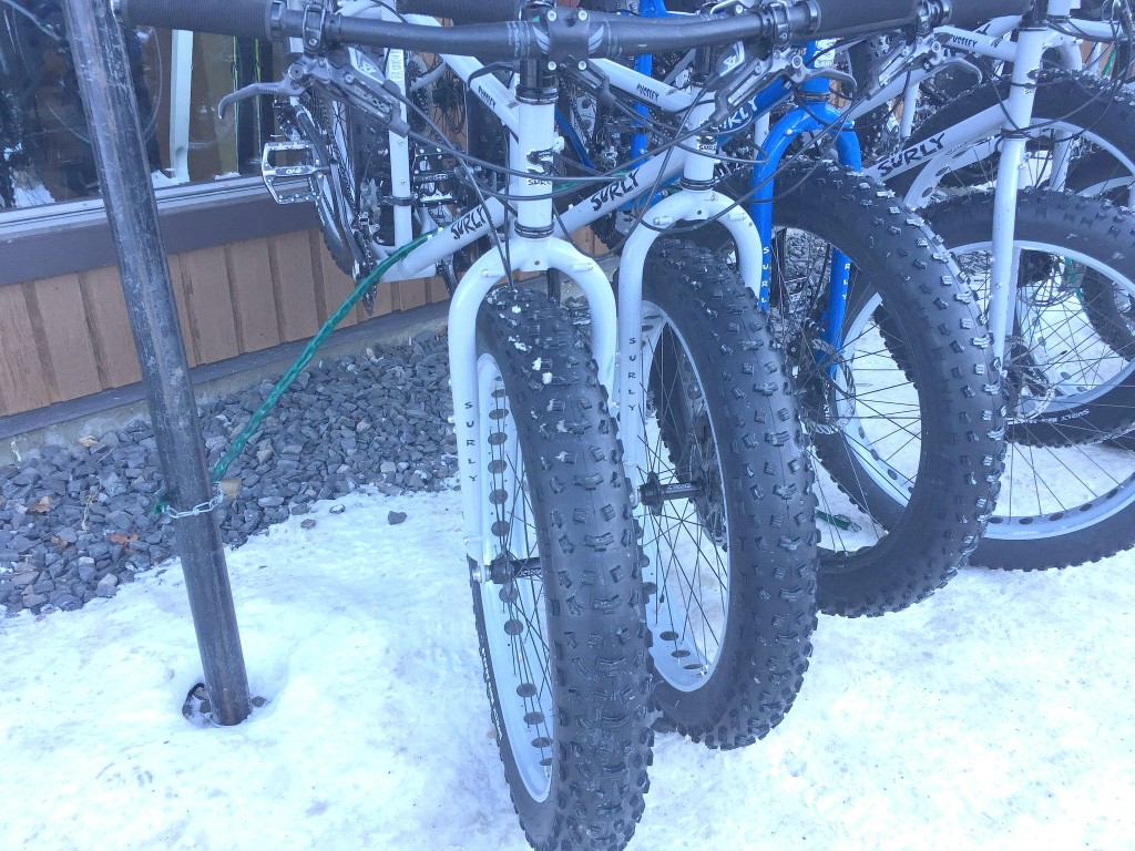 fat tire bikes at canmore nordic centre