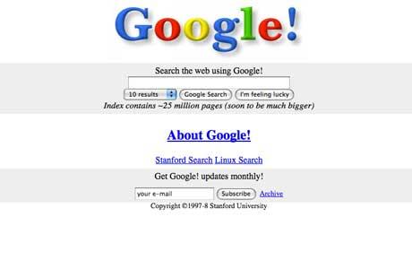 Google In 1996